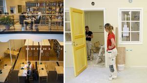 Jõao Pinheiro och Niklas Säwén från Socialdemokraterna skriver om betydelsen av att återinföra högskolebehörighet på de yrkesförberedande gymnasieprogrammen. Bilder: Tina Skiöld / Henrik Montgomery/TT
