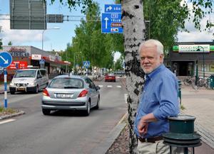 Ronny Svensson, i Leksand. Foto: Privat.