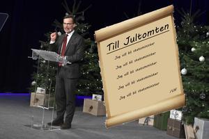 Ulf Kristersson vill bli statsminister. Foto: Claudio Bresciani/TT