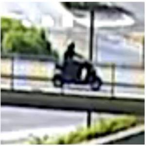 Enligt polisen har övervakningskameran i Rosengård, i Malmö fångat mördaren på bild några timmar innan mordet.