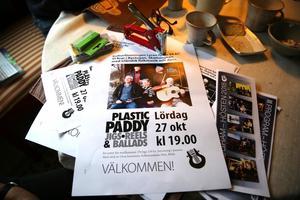 Jubileumsfest den 27 oktober med Plastic Paddy.