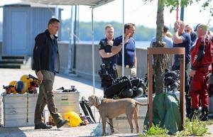 Det fanns även en polishund specialiserad på kriminaltekniska eftersök med vid dykningarna efter försvunna Ingrid Berglund.