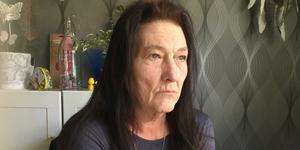 Annelie Eriksson har det tufft efter den inledda cellgiftsbehandlingen.
