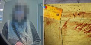 Dagen före det brutala mordet fångade en övervakningskamera kvinnan på bild. Bild: Polisen