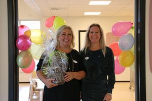 Helena Finnman och Jessica Bengtsson är rektorer på Äppellunden.