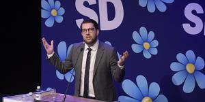 Trots att SD-ledaren Jimmie Åkesson och Sverigedemokraterna tonat ner det värsta i sin nationalistiska och högerkonservativa retorik de senaste tio åren har partiet inte förändrats i grunden. Om Sverigedemokraterna får makt skulle det därför innebära mycket stora förändringar av dagens svenska samhälle. Foto: Janerik Henriksson, TT,