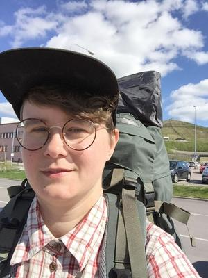 Kebnekaise är förstås häftigt men Vellinges högsta punkt, 68 meter över havet, var också fin med sina shetlandsponnyer, säger Sara Sundholm.