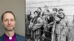 """""""Det judiska är vår historia och framtid"""" – biskop Mikael Mogren om det värsta brottet mot mänskligheten"""