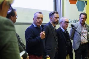 Göran Sydhage, MHF, Motorförarnas helnykterhetsförbund ifrågasatte elbilars batteriers härkomst.