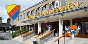 Kungliga Tennishallen blir den högst ovanliga arenan för årets SBL-premiär mellan Djurgården och Jämtland.