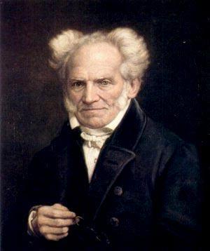 Arthur Schopenhauer 1855, målning av Jules Lunteschütz.