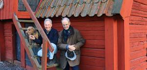 Robert Sjöblom och Erik Eriksson står bakom den nyskrivna pjäsen