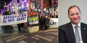 De som kommer hit flyr från bomber, hedersvåld, rasism, religionsförtryck, våldtäkter, mord, tvångsvärvning till armén och tvångsgifte - det känns ända in i benmärg och hjärta hur fel det är att de inte får stanna i Sverige, skriver Birgitta Gravås. Foto: Fredrik Sandberg/TT