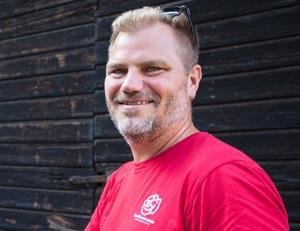 Kommunalrådskandidaten Jonas Lennerthson (S) kunde inte i egenskap av vallokomotiv lokalt dämpa S valvind i Sverige. Tvärt om föll S mer i Falun. Foto: Lina Hård
