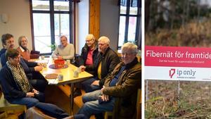 De boende i Gudmundsbyn och Huli samlades i Brukshundsklubbens lokaler i vintras, för att protestera mot IP-Only.