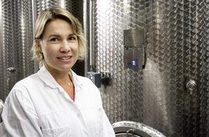 Sian Remfry, nyinflyttad vinproducent från Sydafrika.