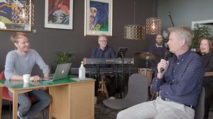 Jens W Nilsson under det andra avsnittet av Godmorgon Höga Kusten. Se reprisen av det andra avsnittet via länken längre ner i artikeln.