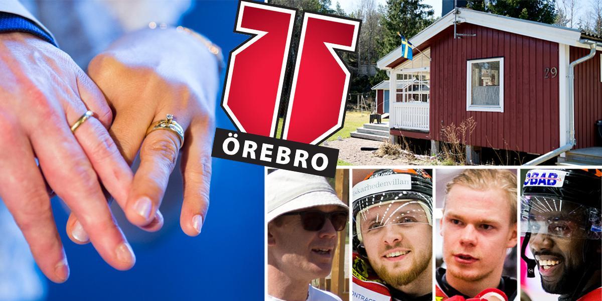 """Bröllop, golf, fiske och renovera sommarställe – det gör Örebro Hockey-stjärnorna på semestern: """"Full fokus på giftermål"""""""