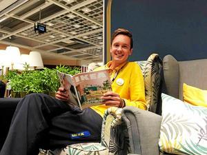 Jonas Fjäll, varuhuschef på Ikea i Västerås.