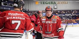 Lukas Pilö har den här säsongen gjort ett mål och fyra assist på 21 matcher. Foto: Daniel Eriksson/BILDBYRÅN