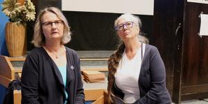 Marie Wilén (C) valdes till kommunstyrelsens ordförande, Carina Schön (S) valdes till vice ordförande.