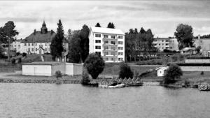 Drömmen om ett höghus vid Ströms Vattudal är inte död. Det säger kommunalrådet i Strömsund, Susanne Hansson. Hon hoppas att planerna ska aktualiseras ännu en gång. Illustration: Gisteråsjöstrand Arkitektur AB.