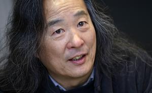Den kinesiske poeten Yang Lian. Bild: Johan Nilsson/TT
