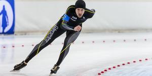 Emil Jeppsson på tävling i Hamar 17-18 november. Foto: EF Sportsfoto