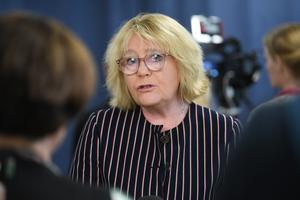 Irene Svenonius, M, är finansborgarråd i Stockholm.