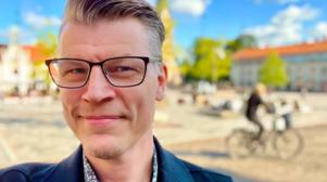 Joakim Gustafsson blir ny destinationsutvecklare på Next Skövde med uppdrag att utveckla stadskärnan. Foto: Pressbild
