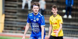Max Holmberg blev tillsammans med Emil Zoltek matchvinnare mot Rengsjö.