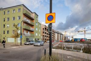 Här på Ladugårdsängen har det byggt många nya lägenheter de senaste åren.