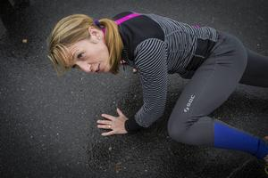 Erika Nordenstam driver eget företag där hon erbjuder personlig träning.