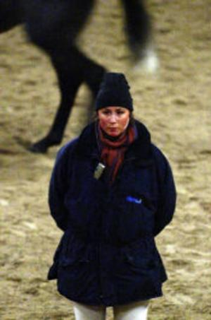 Lisen Bratt Fredricson lärde ut många tränings- och tävlingstips för hästintresserade.