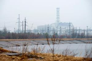 Tjernobyl är evakuerat. Foto: Henrik Montgomery/TT