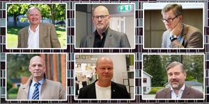 100 procent män. Så ser det ut på de allra högsta kommunala chefsposterna i Hälsingland, ja i hela länet. Fotomontage Helahälsingland.se