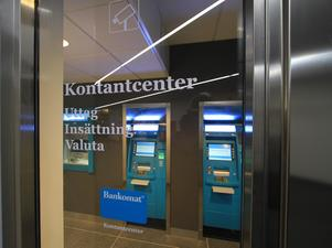 På några orter runt om i Dalarna finns möjlighet att både ta ut och sätta in sedlar med hjälp av Bankomats automater. Foto: Bankomat AB