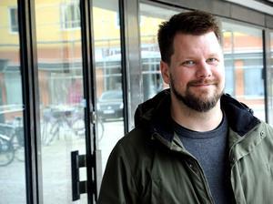 Rikard Rudolfsson, V-ordförande i Borlänge.