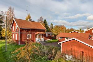 Denna villa på Kalstensgatan i Borlänge kom på nionde plats på Klicktoppen. Foto: Länsförsäkringar fastighetsförmedling Borlänge.