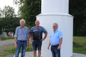 Lennart Silfverin, Mikael Hedberg och Arne Eriksson är redo för årets Augustifest.