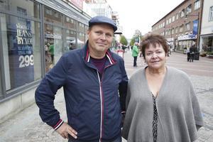 Liberalerna Johnny Karlsson och Carita Holmgren är inte intresserade av att vara med och styra Ludvika i en koalition där SD skulle ha inflytande.