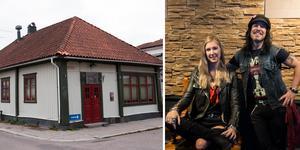Hanna Lindmark och Fredrik Lindmark tar över verksamheten i Wrangelska puben.