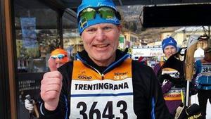 Lennart Trollvad har varit ledare för  orienterings- och löpargrupper i närmare 23 år. Han startade 1997 och är fortfarande aktiv ute i spåren.  Foto: Privat