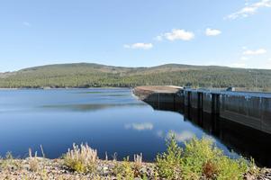 Bilden är från Trängslet 2014 då det var lågt vatten. Arkivbild.