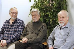 Kurt Johansson, Jan Nilsson och Kurt Rådlund har hela våren agerat för att KPR även i fortsättningen ska vara remissinstans.