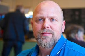 – Det blev en trevlig och rolig kväll på torget i Sveg med att lösa problem jag aldrig varit i närheten av tidigare, säger Crister Lindh.