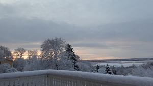 Söråker, vy över Klingerfjärden mot Alnö. Bild: Diana Marie