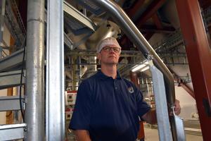 Per Edvardsson, Polarbröd i den nya anläggning, som kommer att tas i bruk efter årsskiftet