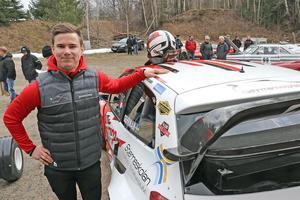 Rallycrossföraren Philip Gehrman från Lindesberg är också uttagen till landslaget.