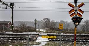 Den gångfålla som finns i Snickarbo kommer att stängas i samband med att arbetena på mötesplatsen inleds.